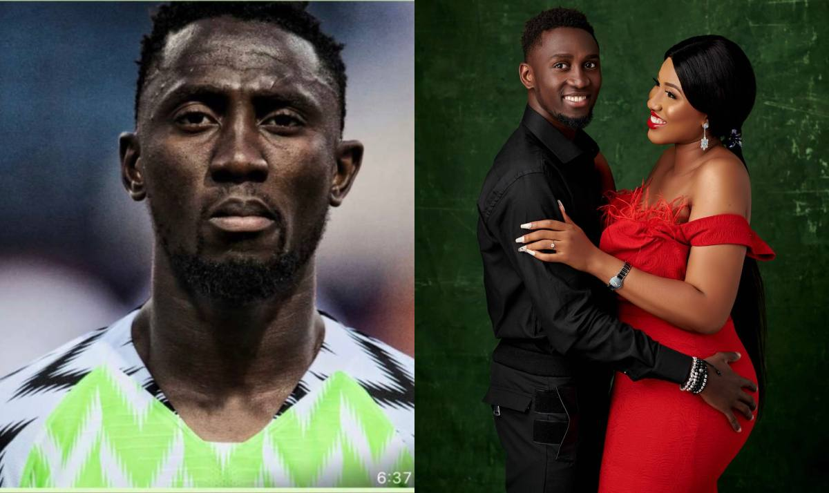 Super eagles star, wilfred ndidi and wife